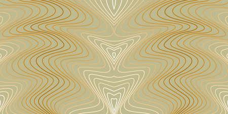 Vector abstract waves lines background Ilustración de vector