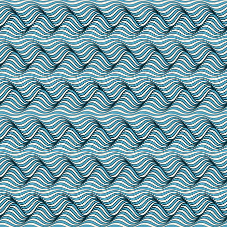 Waves background with distortion effect