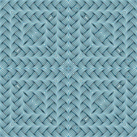 Vector line pattern with distortion effect