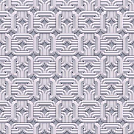Vector paper cut geometric modern background. Stock Illustratie
