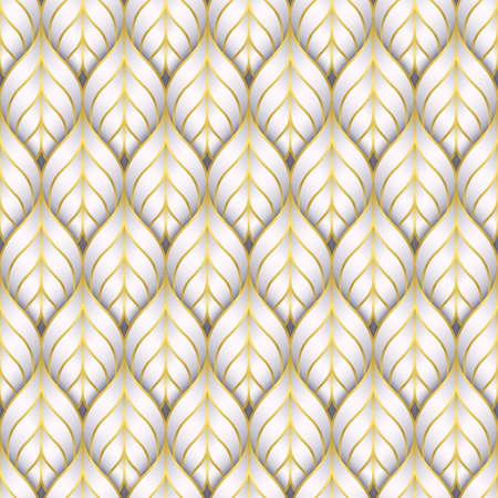 Vector paper cut nature modern background. Stock Illustratie