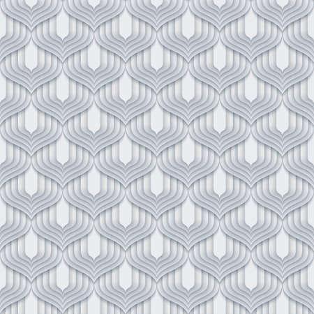 Vector paper cut geometric modern background.