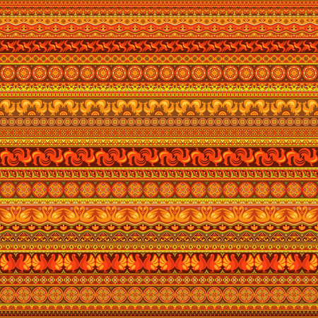 Abstract ethnic stripe pattern, raster background