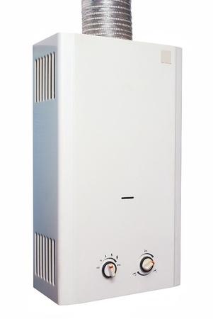 heater:   Water heater gas Stock Photo