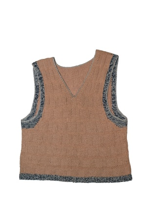 Knitted vest photo