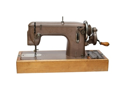 The old sewing machine  Stock Photo - 12148764