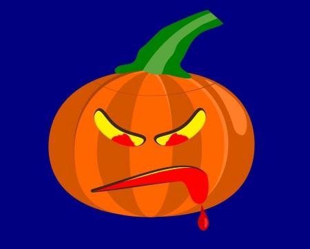 Halloween Pumpkin Stock Vector - 15338077