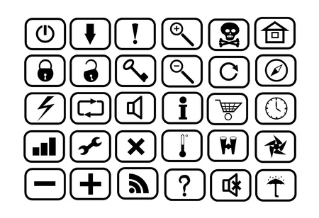 informant: Set of icons for WEB