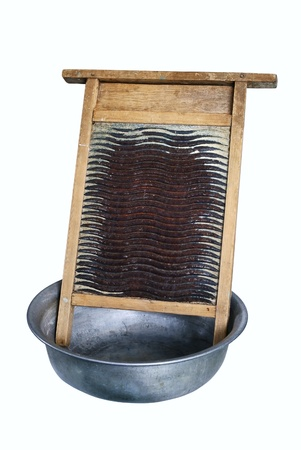 wash basin: Ancient subjects for manual washing of linen