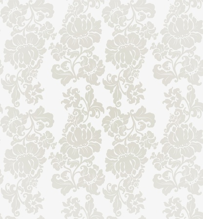 Seamless ornament floral Vector
