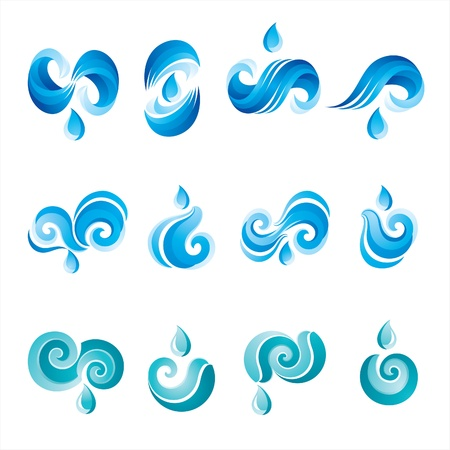 Set of Icons of Water - the second Stock Vector - 9120673