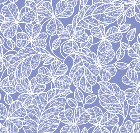 leaf lace background Stock Vector - 9226024