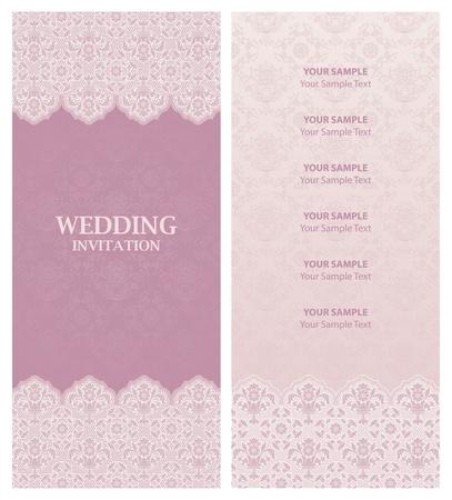 detail invitation: wedding invitation, ornament-flowers background