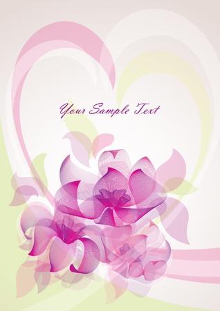sophisticate: flower background  design element 10EPS Illustration