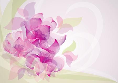 sophisticate: flower-background 10EPS