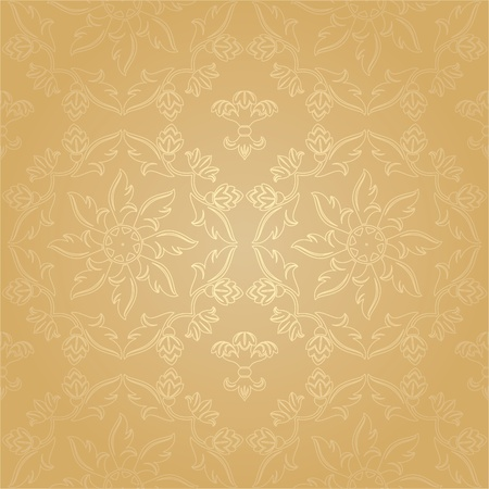 Seamless pattern - floral background Stock Vector - 9444136