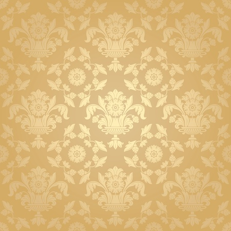 Seamless pattern, floral background Stock Vector - 9805712