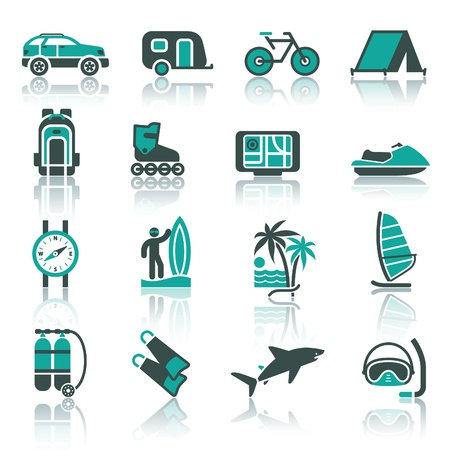 Vacation, Recreation  Vector