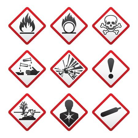 New safety symbols Stock Photo - 10506390