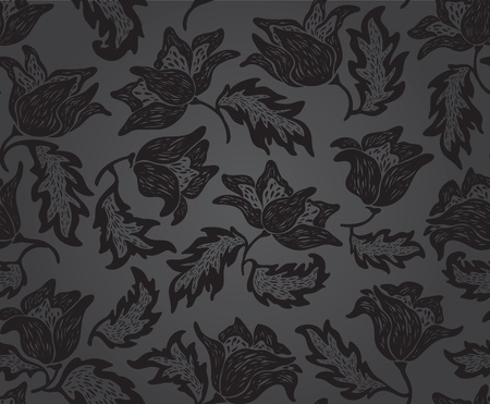 accent: Floral pattern background pattern