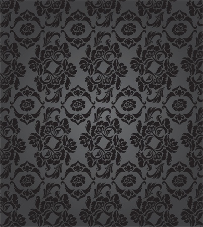 Floral pattern, background seamless Vector
