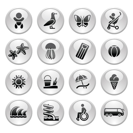disabled sports: Tourism, Recreation  Illustration