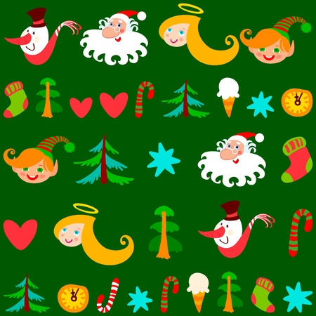 Christmas background, vector. Can be use at your Christmas card design Stock Vector - 11131453