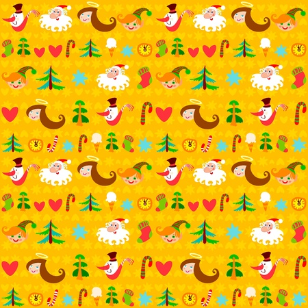 Christmas background, New Year Vector
