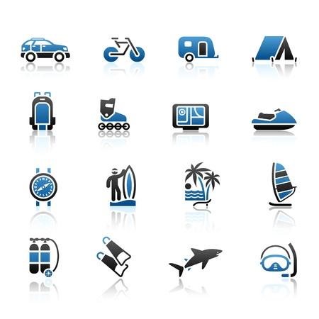tourismus icon: Urlaub, Erholung