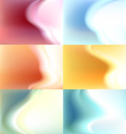 daub: Set blur background, watercolor backdrop