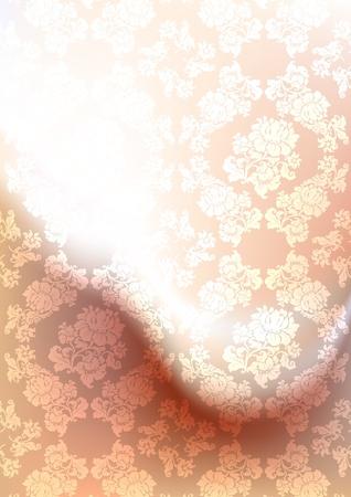 peachy: Background blur, ornament backdrop peachy, gradient mesh