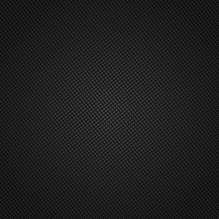 Metal background with texture, carbon fiber Vector