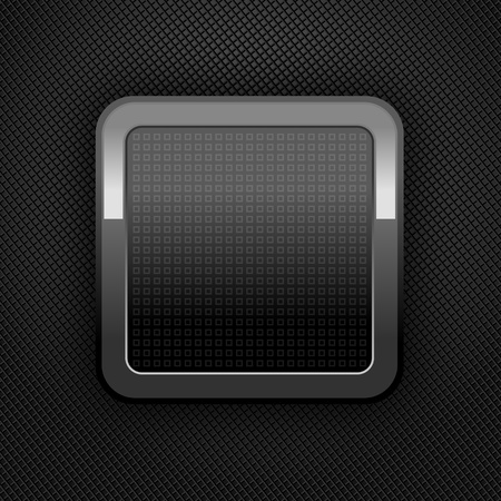 inet: Metal web button