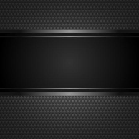 carbone: R�sum� de fond m�tallique. Illustration
