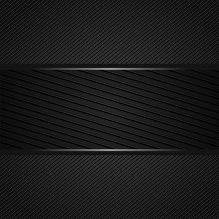 cotton carbon fiber: Abstract dark gray background Illustration