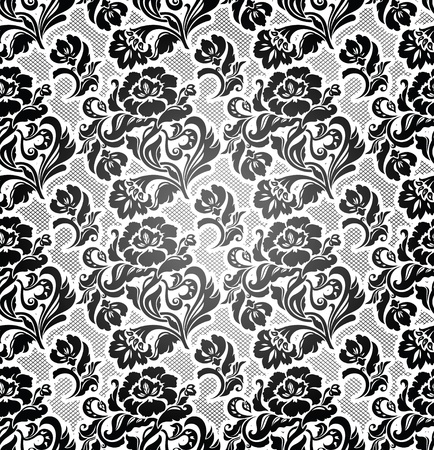 structure corduroy: Lace background, ornamental flowers