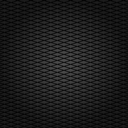 textuur: Corduroy achtergrond, donker grijs raster stof textuur Stock Illustratie
