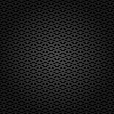 Corduroy background, dark gray grid fabric texture Vector