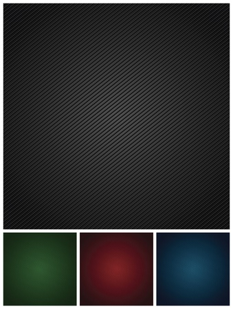 Set colors corduroy textures backdrops Vector