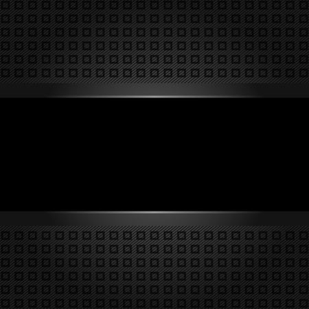 Abstract black background  plastic texture Vector