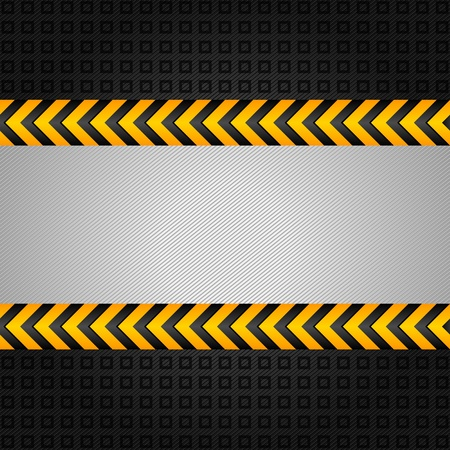 hazard tape: Abstract background template, under construction