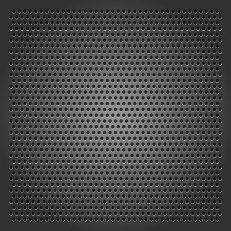 dark fiber: Achtergrond geperforeerde plaat Stock Illustratie