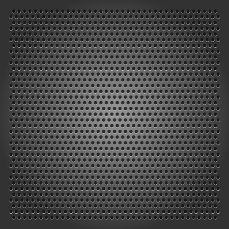 carbon steel: Background perforated sheet