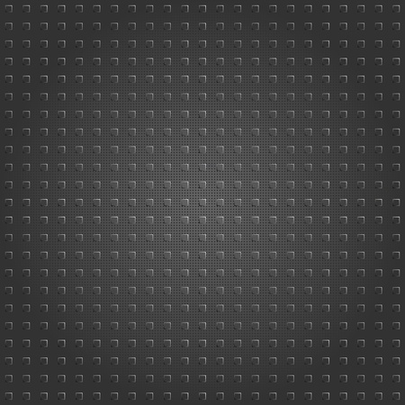 composit: Structure plastic on carbon fiber backdrop Illustration
