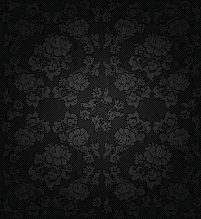 velvet texture: Corduroy sfondo scuro, grigio fiori di tessuto trama