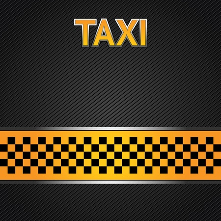 chequered ribbon: Taxi cab background