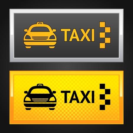 cab: Taxi cab set label