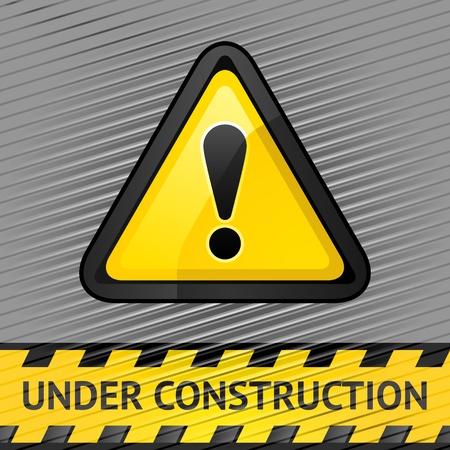 industrial danger: S�mbolo de la atenci�n en la plata de pana de fondo 10eps Vector