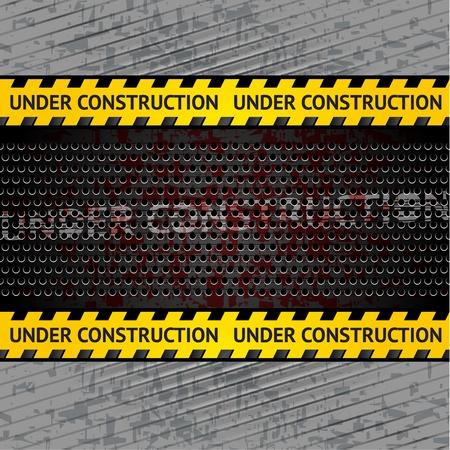 carbone: En vertu de fond la construction du vecteur mod�le 10eps Illustration