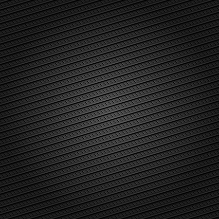 Corduroy black background, dotted lines Vector